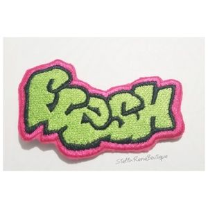 Graffiti Fresh Prince Embroidered  DIY Iron Patch